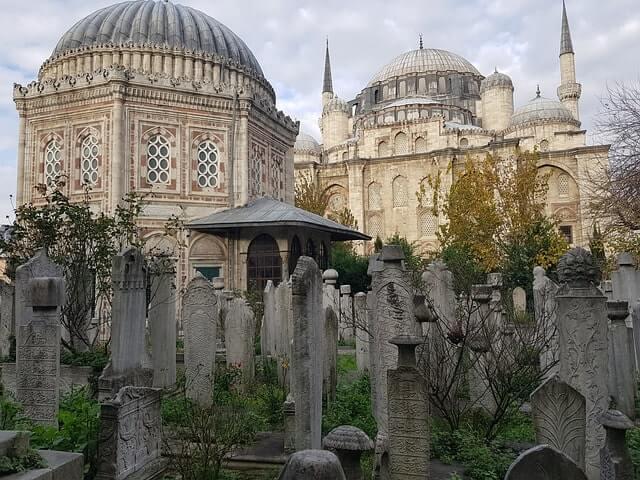 Muslimische Bestattung